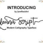 Alleana Script Font