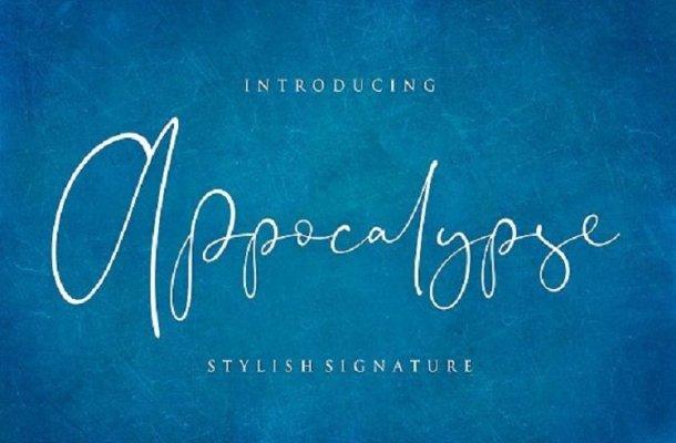 Appocalypse Handwriting Font
