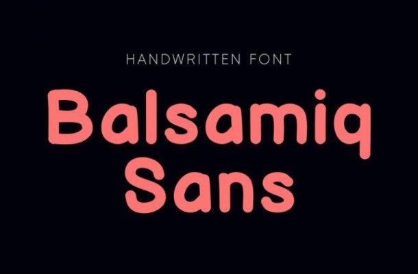 Balsamiq Font Family