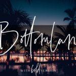 Bottomland Handwritten Font