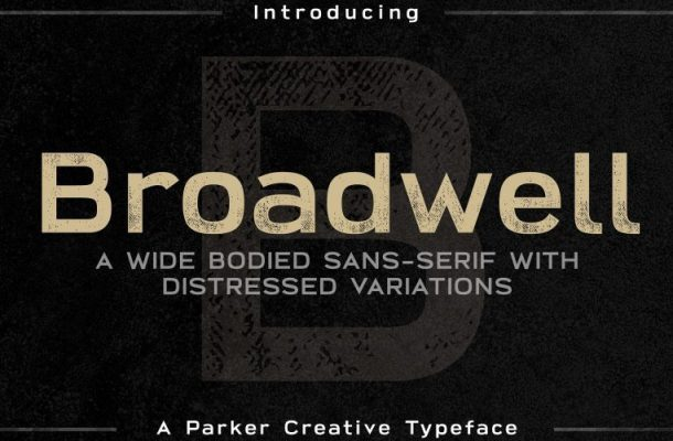 Broadwell Typeface