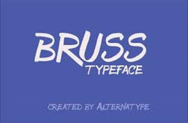 Bruss Typeface