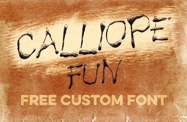 Calliope Fun Font