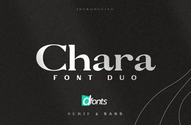 Chara Sans Serif & Serif Font Duo