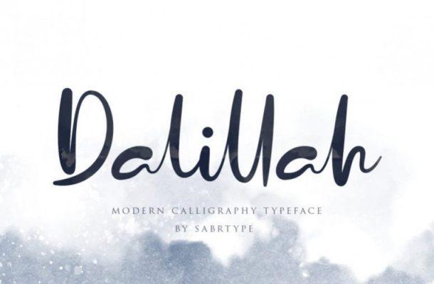 Dalillah Handwritten Font