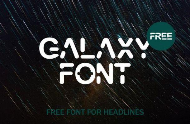 GALAXY Free Font