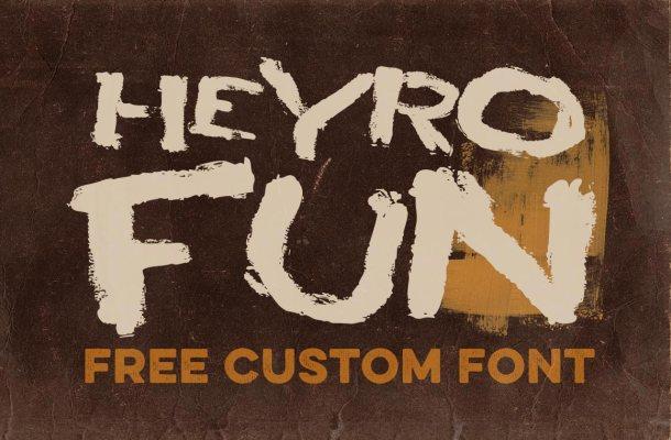 HEYRO Fun Font