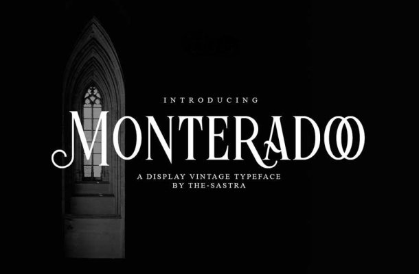 Monteradoo Font