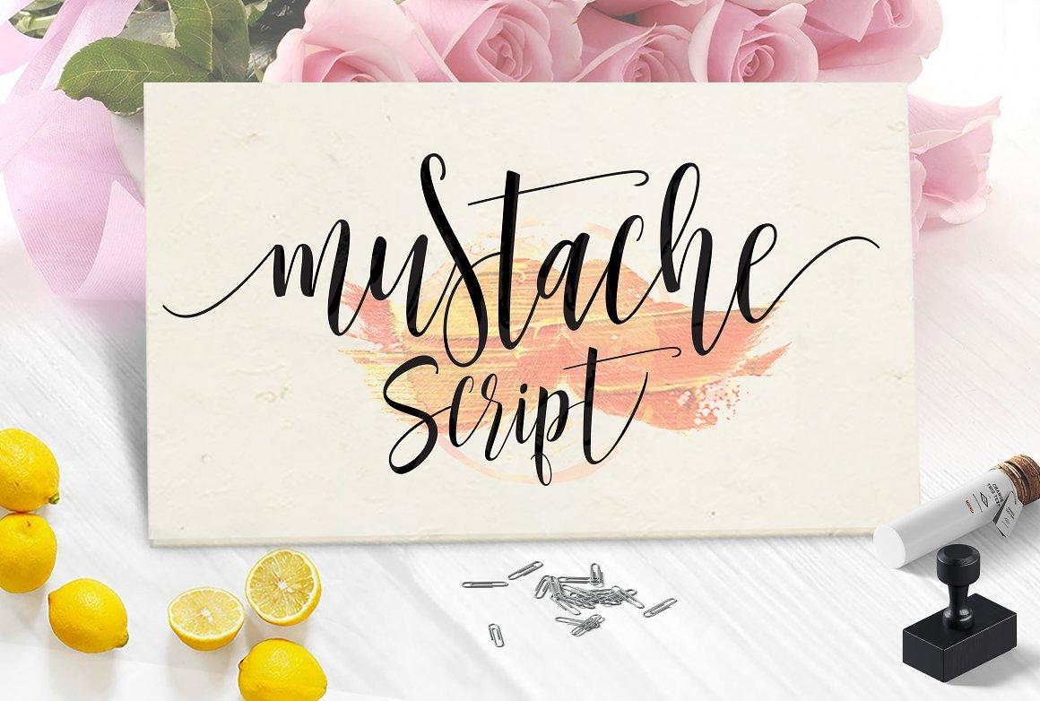 Mustache Script Font 2