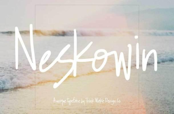 Neskowin Font