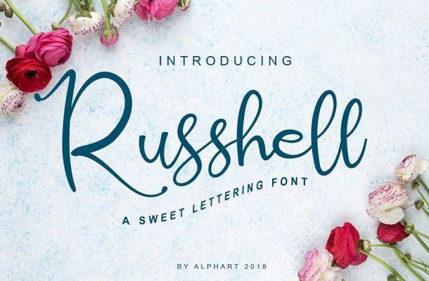 Russhell Font