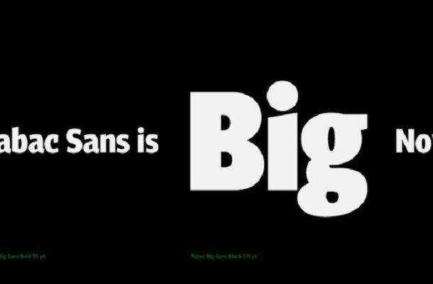 Tabac Big Sans Font Family