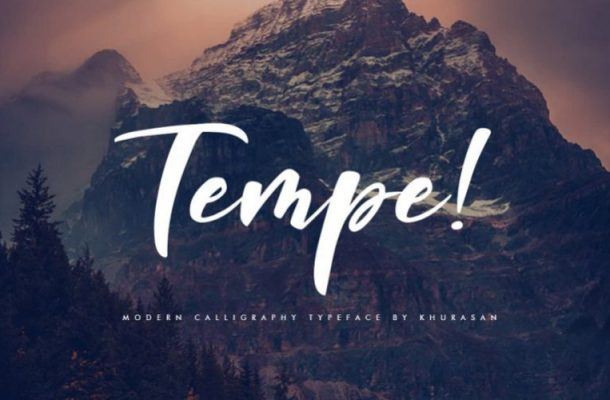 Tempe Calligraphy Font