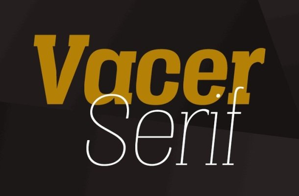 Vacer Serif Personal Font