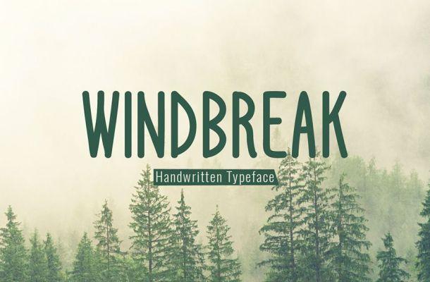 Windbreak Font