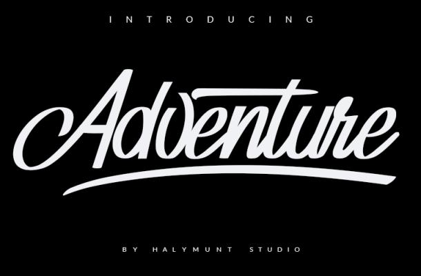 Adventure Invisible Font