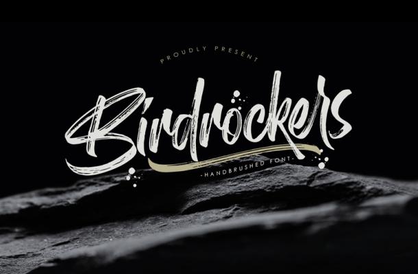 Birdrockers Font