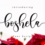 Boshela Font