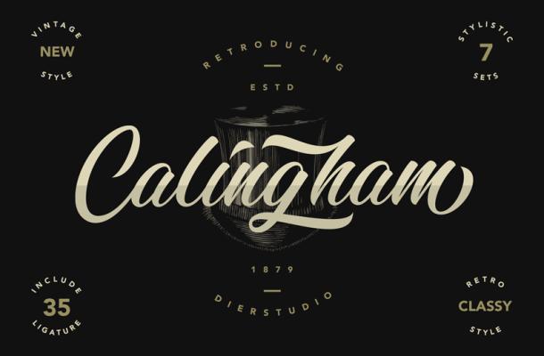 Calingham Font