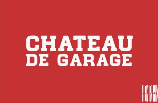 Chateau de Garage Font