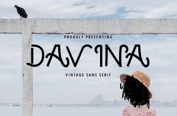 Davina Vintage Font