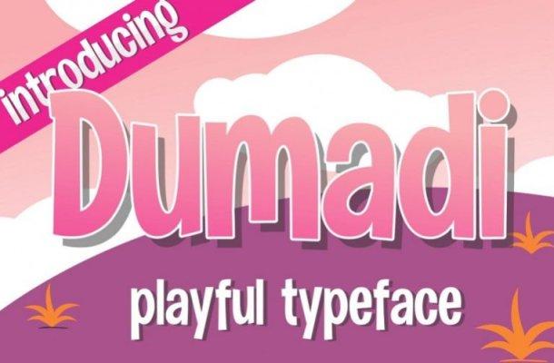 Dumadi Playful Font