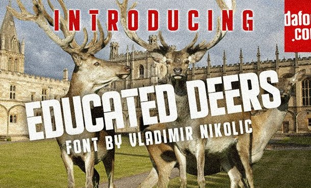 Educated Deers Font