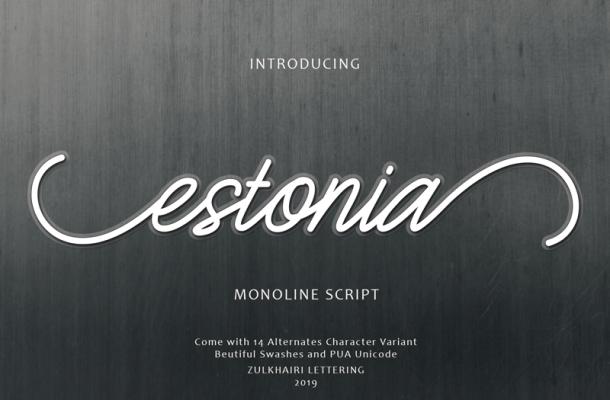 Estonia Font
