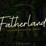 Fatherland Handwritten Font