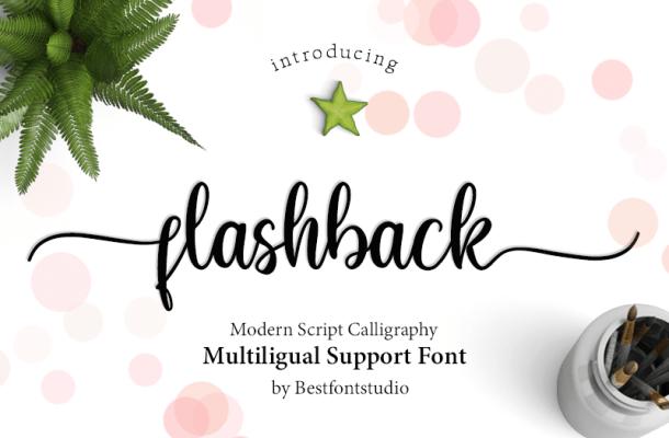 Flashback Font