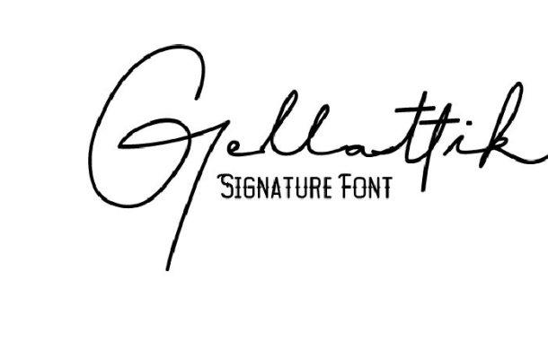Gellattik Janggan Font