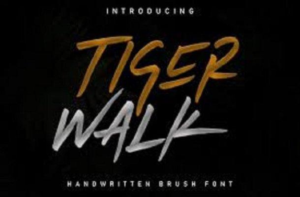Tiger Walk Font