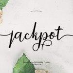 Jackpot Calligraph Font