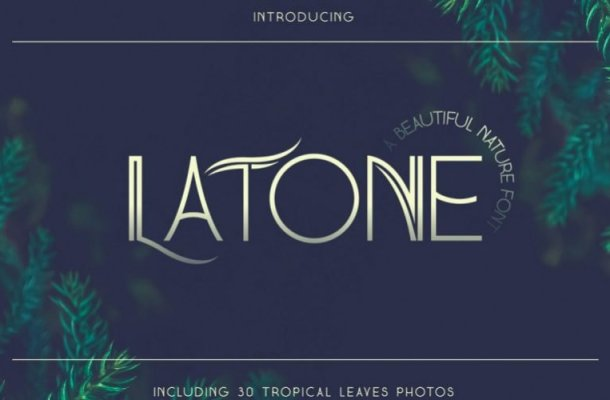 Latone Sans Font Demo