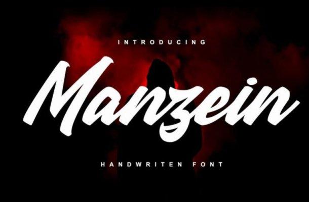 Manzein Handwritten Font