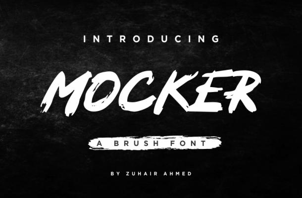 Mocker Font