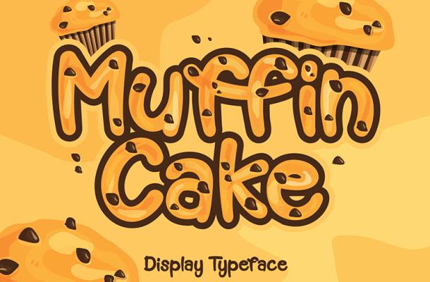 Muffin Cake Font