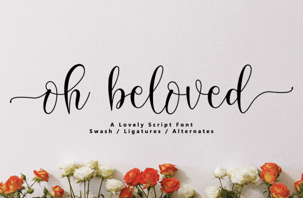 Oh Beloved Font