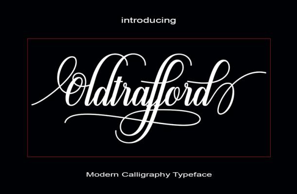 Oldtrafford Font