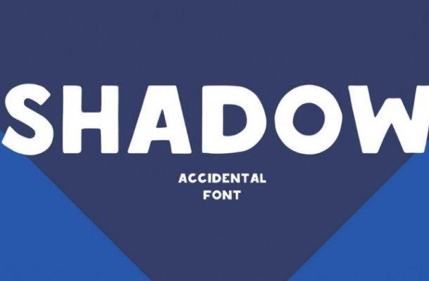 Shadow Display Font