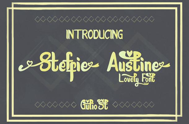 Steffie Austin Font
