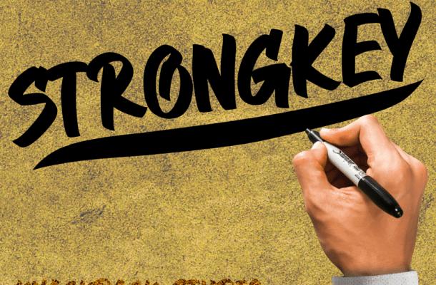 Strongkey Font