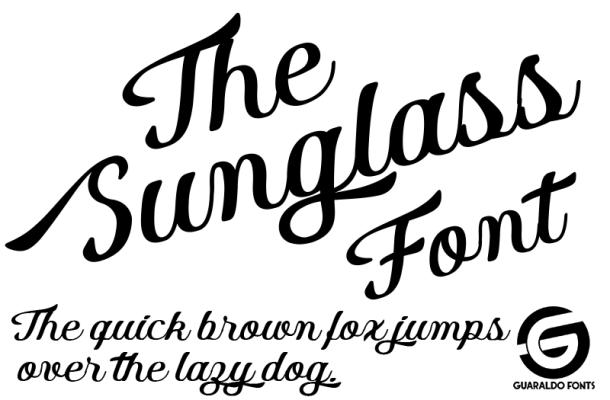 Sunglass Font