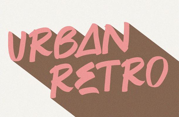 Urban Retro Font