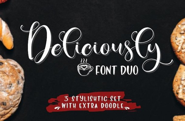 Deliciously Calligrapht Font