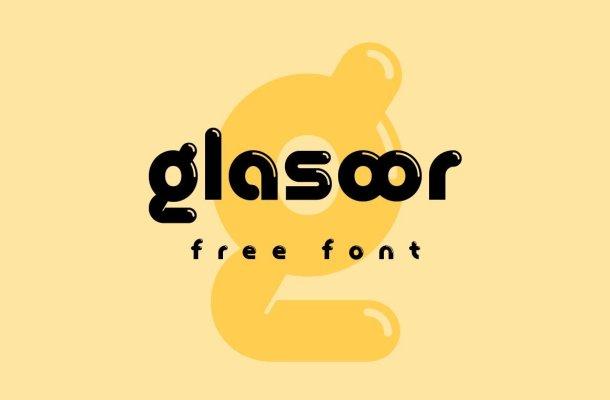 Glasoor Font