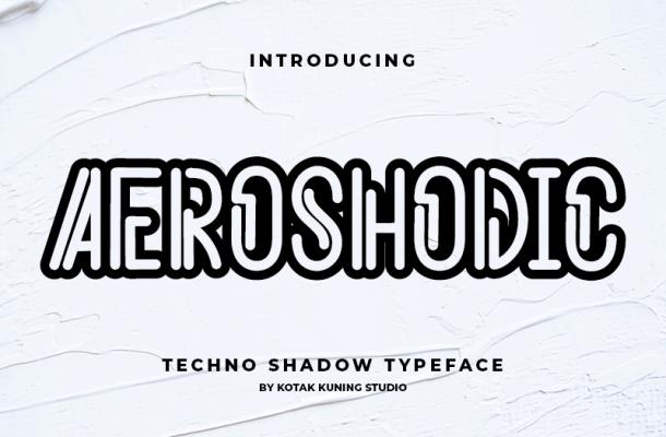 Aeroshodic Font