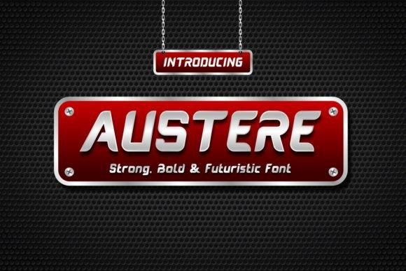 Austere Typeface