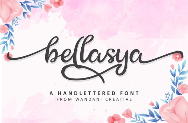 Bellasya Font