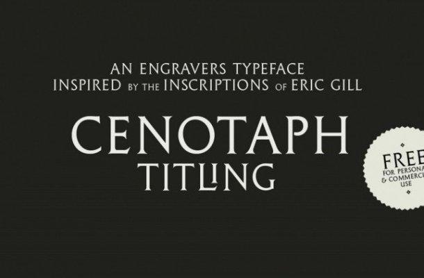 Cenotaph Titling Serif Font